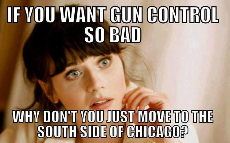 See if you still want gun control! They have the worst crime rate and are gun free zones!