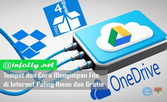 Tempat dan Cara Menyimpan File di Internet Paling Aman dan Gratis  http://www.infollg.net/2017/08/tempat-dan-cara-menyimpan-file-di-internet-paling-aman-dan-gratis/574