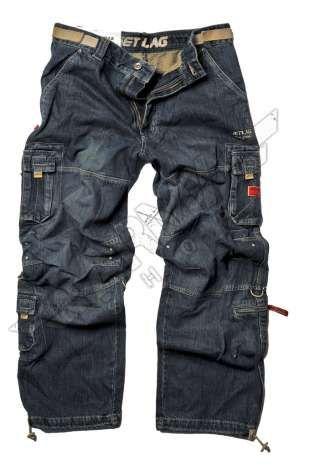 Pantaloni lunghi cargo jeans Safety denim