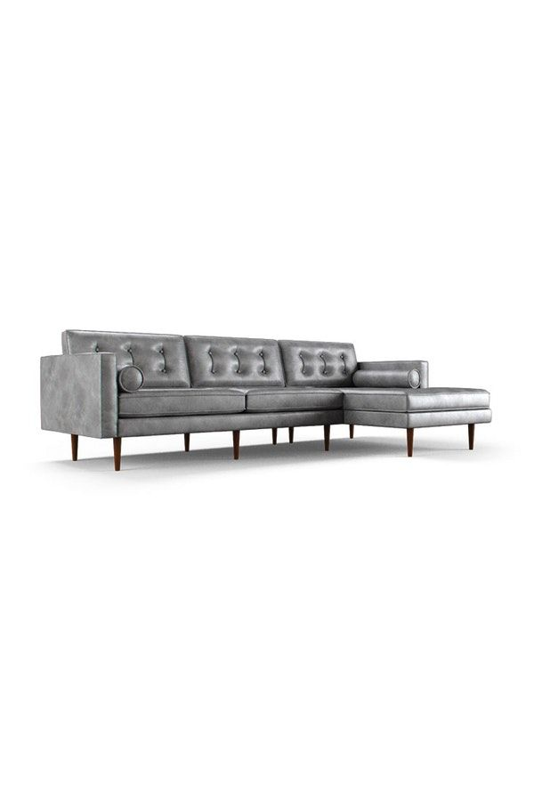 Best 25 Leather Sectionals Ideas On Pinterest Leather