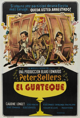 El guateque (1968) EEUU. Dir: Blake Edwards. Comedia. Cine dentro do cine - DVD CINE 170
