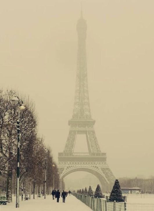 Paris...even though its so cold when I go, the city is so beautiful.