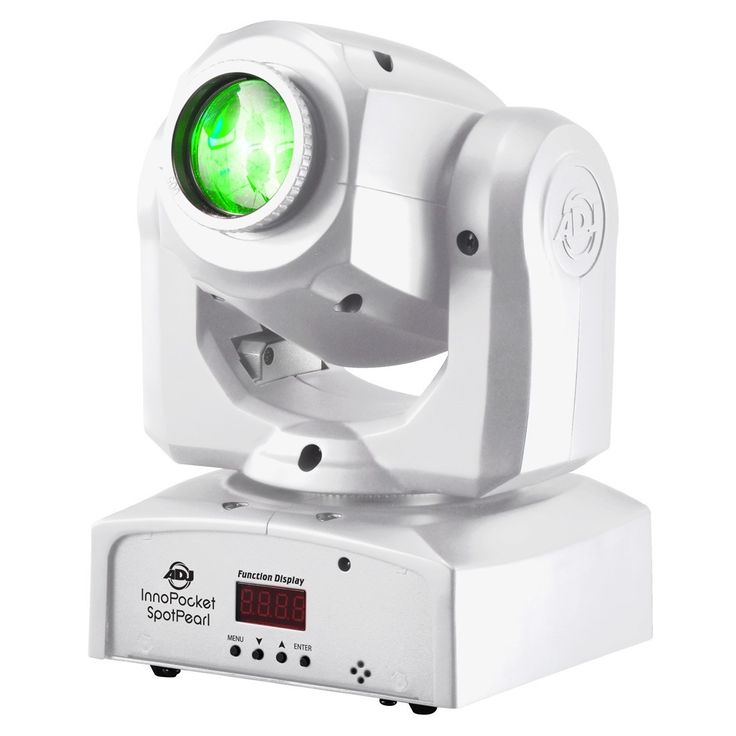 GearclubDirect - American DJ Inno Pocket Spot  Pearl Compact LED Moving Head, $299.99 (http://www.gearclubdirect.com/american-dj-inno-pocket-spot-pearl-compact-led-moving-head/)