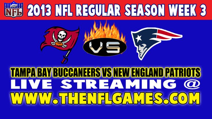 Tampa Bay Buccaneers vs New England Patriots Live Streaming