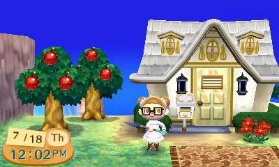 Animal Crossing New Leaf House Exterior Animal Crossing