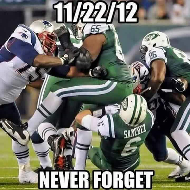 #Patriots #Jets #Sanchez #Buttfumble 11/22/12