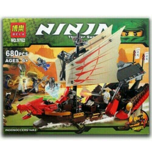 Jual LEGO BELA 9762 NinjaGo Destiny's Bounty hanya Rp 430.000, dapatkan hanya di Toko Mainan Bricks /Lego indoSOCCERstarz https://www.tokopedia.com/indosoccerstarz/lego-bela-9762-ninjago-destinys-bounty #legoninjago #like4like #indosoccerstarz #mainanlego #kadomainan #mainananak #tokomainan