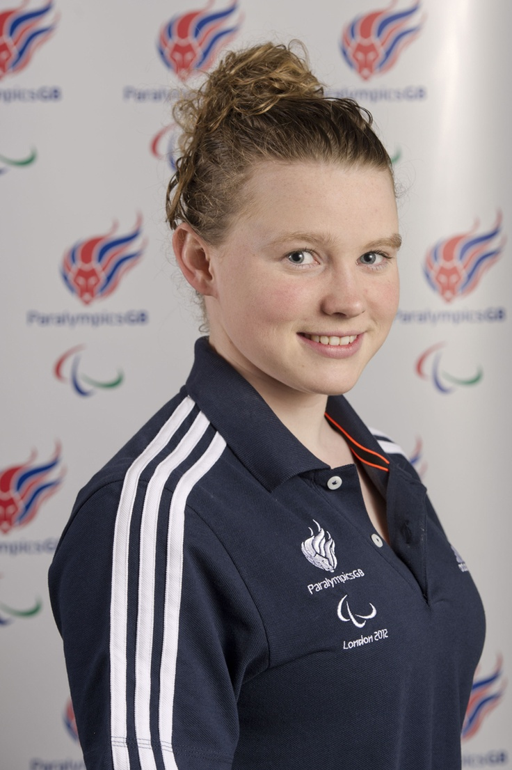 Gemma Almond, London 2012 competitor (200m Individual Medley) and History student (pic via http://www.paralympics.org.uk/gb/athletes/gemma-almond)