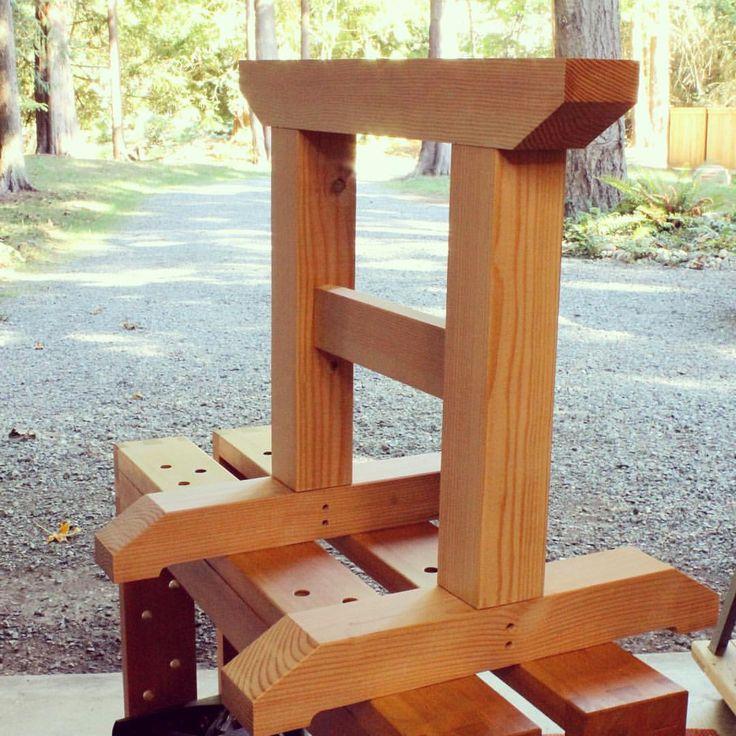 Best 25+ Sawhorse plans ideas on Pinterest : Diy sawhorse, Folding sawhorse and Wood shop ...