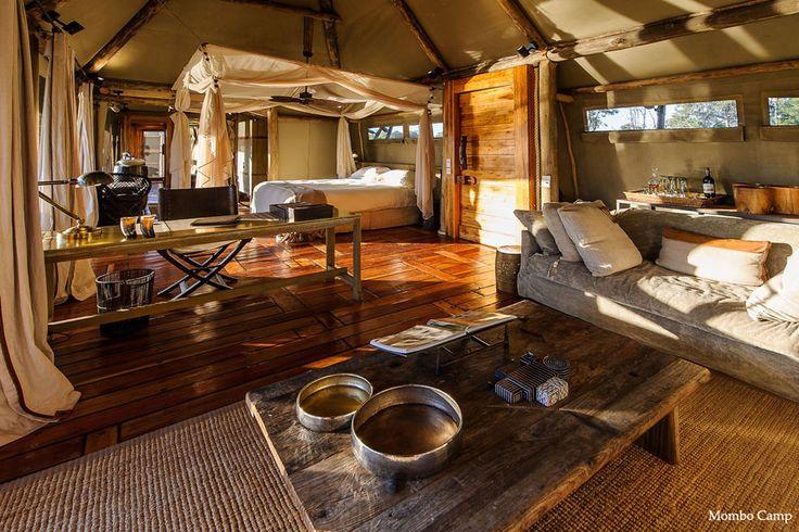 @wildernesssaf Mombo Camp is utter luxury in Botswana's Okavango Delta.   www.exploreafrica.net