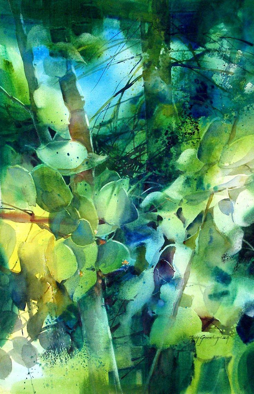Fluttering Aspen by Judy Greenberg
