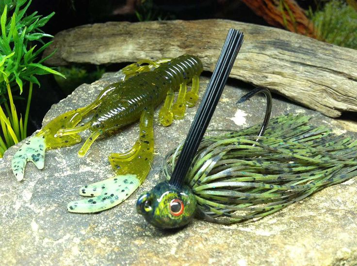 Winter Color Selection of Bass Jigs - World Fishing Network