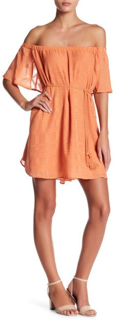 Finders Keepers the Label Better Days Ruffle Dress