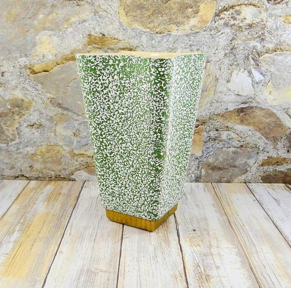 Mid Century Modern Vase by Shawnee Pottery Chantilly Pattern