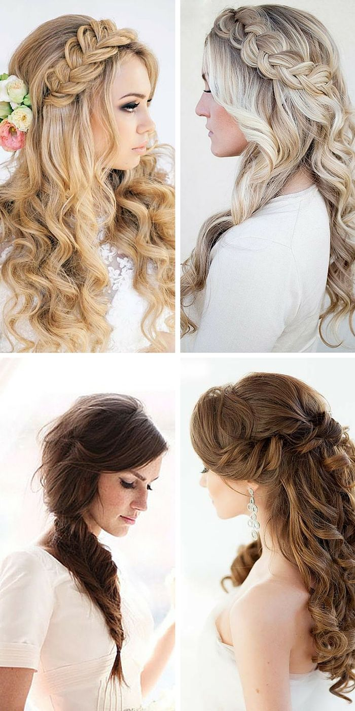 68 best Bridal hairstyle images on Pinterest | Bridal hairstyles ...