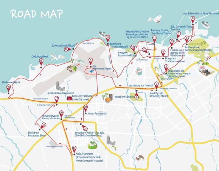 Jeju City Tour Bus: Hop On & Hop Off 1 Day Pass - Trazy, Korea's #1 Travel Guide