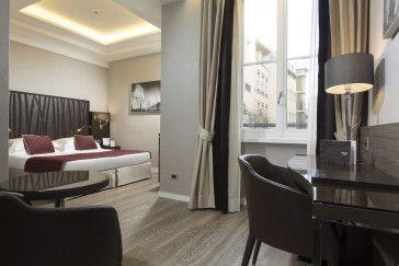 Deluxe Double room - Hotel Artemide  #Rome DeluxeDoubleroom