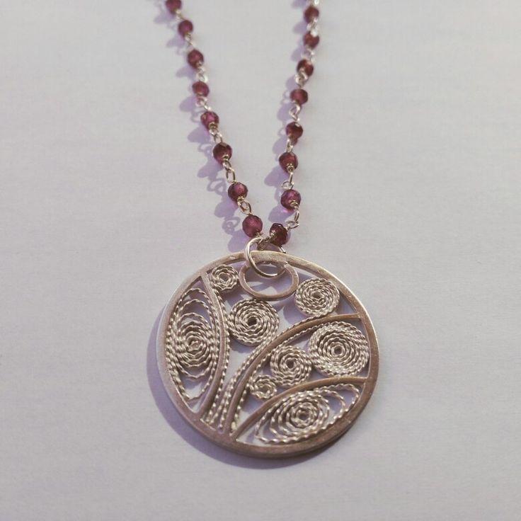 Filigrana pendant in silver