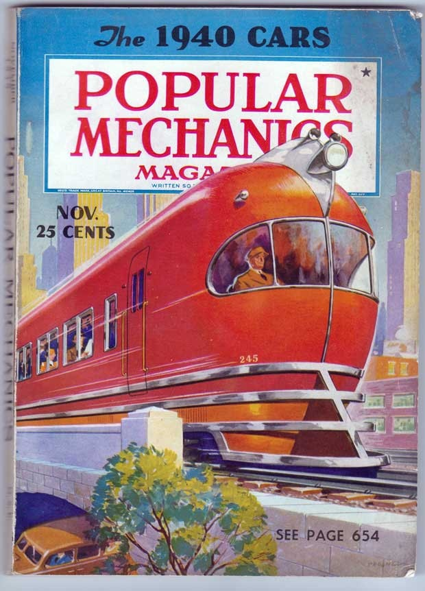 Popular Mechanics November 1939, via Etsy.                                                                                                                                                                                 More