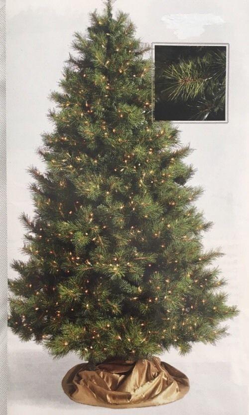 7.5' Frontgate Artificial PreLit Christmas Tree Virginia Pine #Frontgate