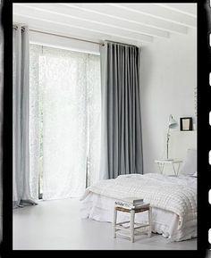 30 best gordijnen slaapkamer images on pinterest, Deco ideeën