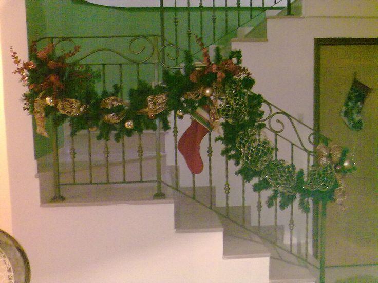 Decoracion Escalera. Flia Jimenez. 2013. By Glk.