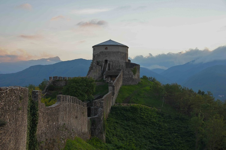 Fortezza delle Verrucole in the Garfagnana