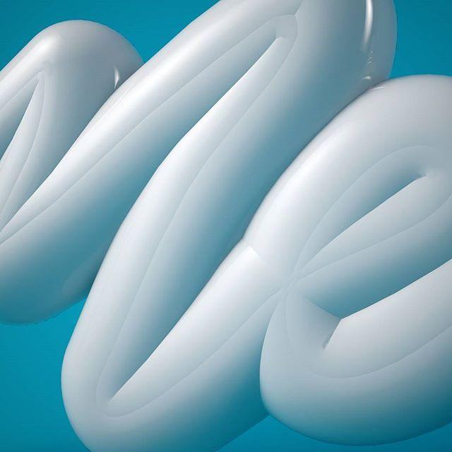 Extrabold...💎💎⚪⚪ #artoftype #barcelona #bcn #blue #cinema4d #c4d #calligraphy #cali #california #caligrafia #design #eligechose #extrabold #graphicdesign #goodtype #handmade #handstyle #kerning #letters #lettering #memphis #old #render #style #type #typography #tipografia #volumen #white #