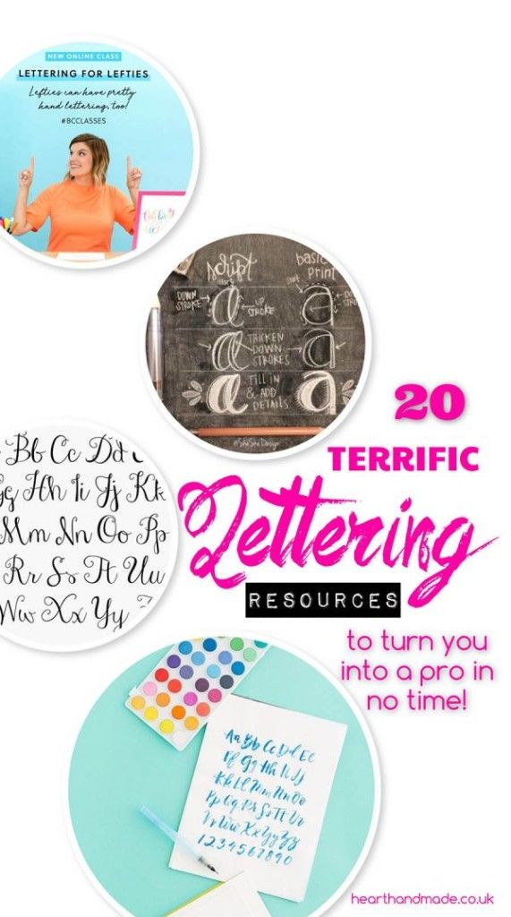 442 best just do it yourself images on pinterest 20 fantastic online resources for beginner lettering stars solutioingenieria Image collections
