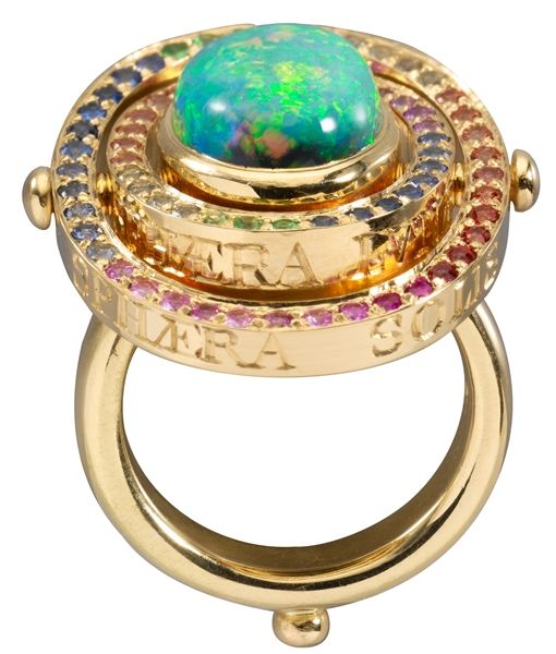 Black Opal Tolomeo Ring - Temple St. Clair - Product Search - JCK Marketplace
