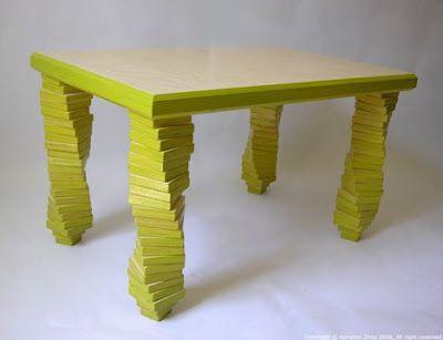 Döner bacaklı masa