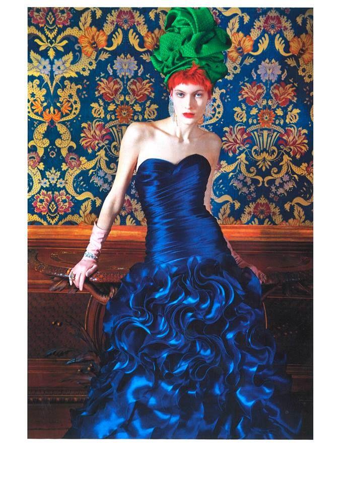 Carlo Pignatelli featured on Vogue Italia  N.799 #carlopignatelli #couture #sposa #bride #matrimonio #wedding #newcollection #madeinitaly #abitodasposa #weddingdress #bridalgown #editoria