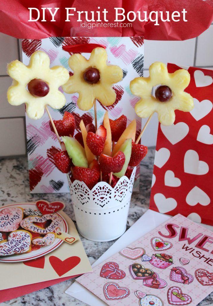 Diy Fruit Bouquet I Dig Pinterest Fruit Bouquet Diy Fruit Bouquet Ideas Edible Fruit Arrangements