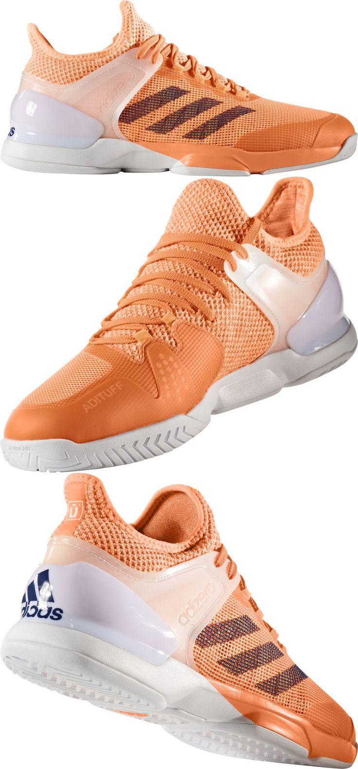 Shoes 62230: Adidas Adizero Ubersonic 2 Orange/White Mens Shoe -> BUY IT NOW ONLY: $89.95 on eBay!