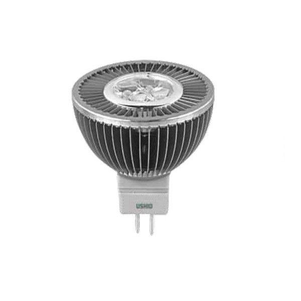Ushio 6.5w 12v Uphoria LED MR16 WFL60 Warm White Light Bulb