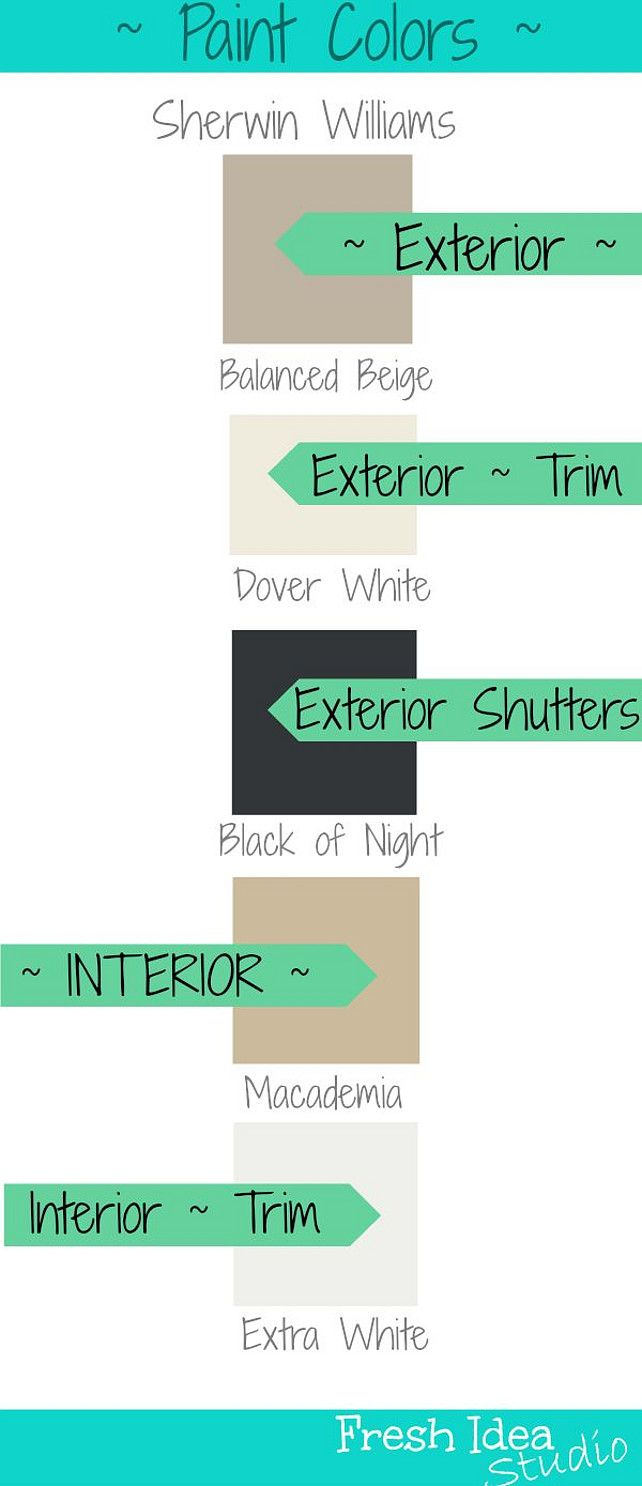 Exterior house color schemes with black shutters - Exterior House Color Schemes With Black Shutters 42