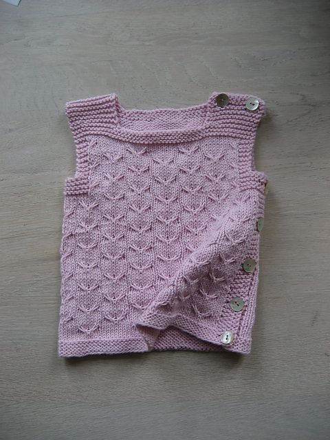 Ravelry: Woollahoo's Little Top with Slipstitch Pattern