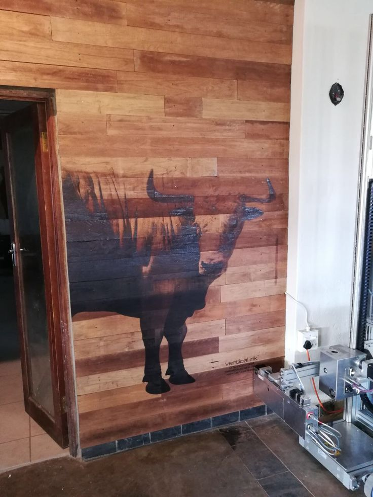 Any mural printed directly onto almost any vertical surface