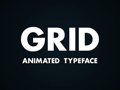 Grid   preview dribbble