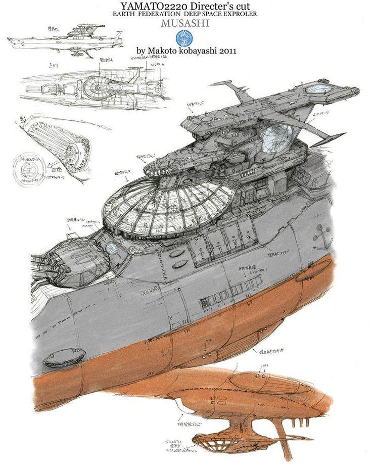 Rocketumblr | 小林誠 Makoto Kobayashi 宇宙戦艦ヤマト 復活篇 Space...                                                                                                                                                                                 もっと見る