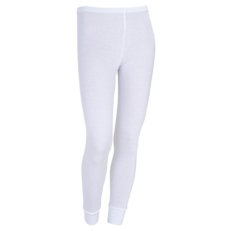 Kids Polypropylene Pants: White 4-12