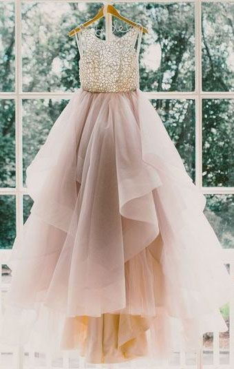 Charming A-Line Beading Prom Dresses,Long Evening Dresses,Prom Dresses On Sale
