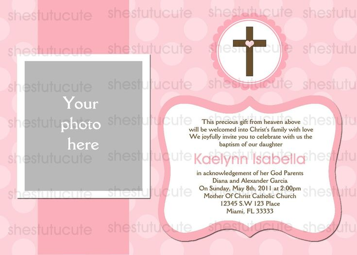 349 best baptism invitations images on pinterest christening girls baptism invitations digital file by shestutucutebtq on etsy stopboris Choice Image