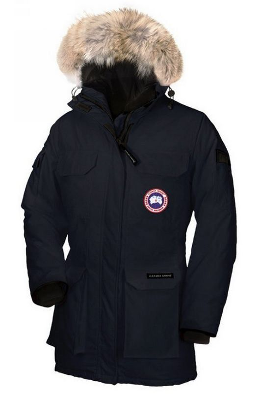 Canada Goose Expedition Parka Women Navy