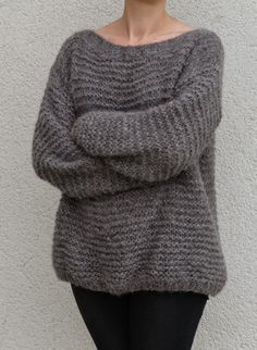 Tricolyne: N°4 Le pull point mousse