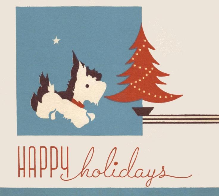 рождественские открытки шотландии важнейших
