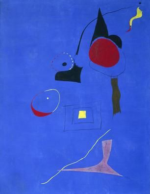 Painting (Circus), 1927 | Joan Miró , Spanish, (1893 - 1983) | Oil on canvas   45½ x 33¼ inches | The Museum of Fine Arts, Houston