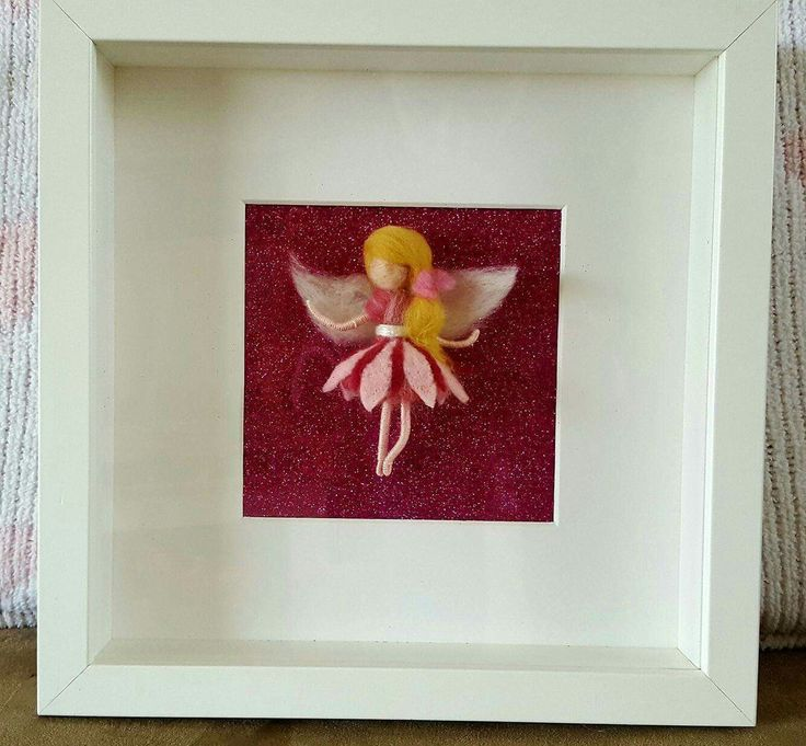 Needlefelted fairy in frame made by me shop/ThefeltfairyStudio?ref=hdr_shop_menu