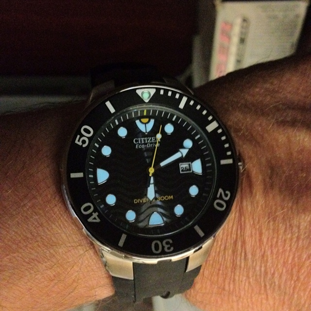 """Citizen"" Eco-Drive diver"