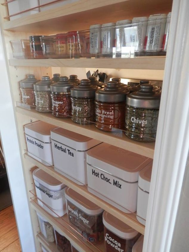 how to make a pantry out of a closet